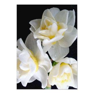 Fleur de Jonquil - 3:1 d'Ecclesiastes Invitations Personnalisées