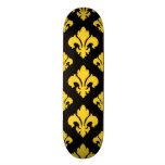 Fleur De Lis 2 Freesia Skate Board Decks