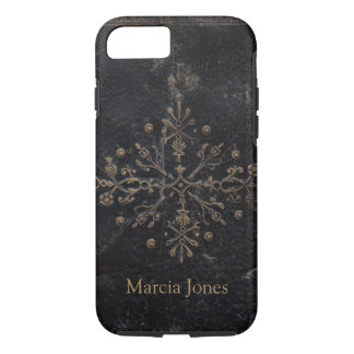 Fleur-de-lis Antique Book Tough iPhone 8/7 Case