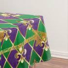 Fleur de Lis, Arrows, Mardi Gras Tablecloth
