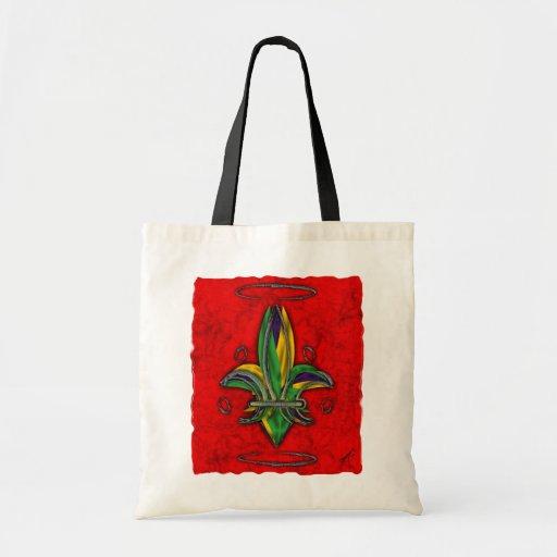 Fleur de Lis Bag Sac Fourre-tout