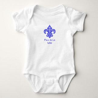 Fleur de Lis bébé™ One Piece Baby Bodysuit