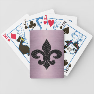 Fleur De Lis Bicycle Playing Cards