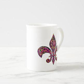 Fleur De Lis ~ Bone China 10oz Cup Bone China Mug