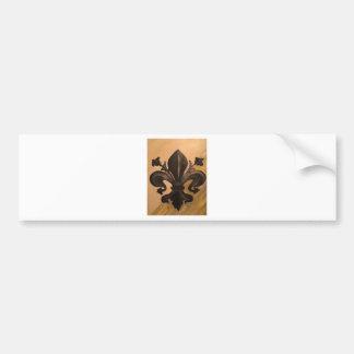 Fleur De Lis Bumper Sticker