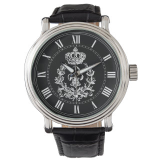 Fleur-de-lis, Crown and Wreath Watch