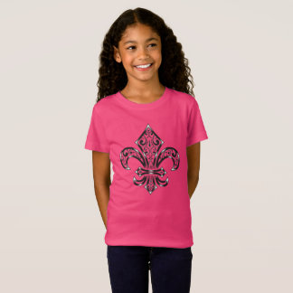 Fleur de Lis Design on Child / Youth T-Shirt