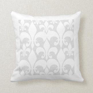 Fleur-de-Lis Design Pillow