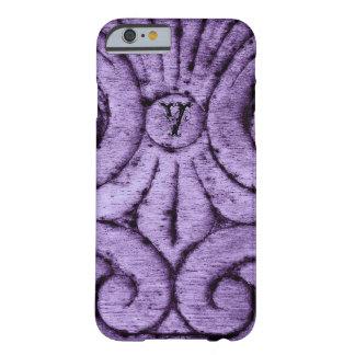 Fleur de Lis Design (Purple) Barely There iPhone 6 Case