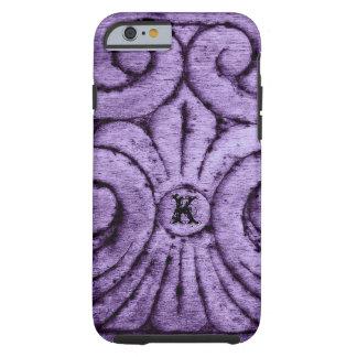Fleur de Lis Design (Purple) Tough iPhone 6 Case