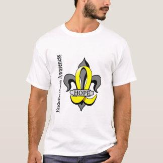 Fleur De Lis Endometriosis Hope T-Shirt