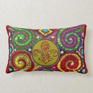 Fleur De Lis Flor  New Orleans throw Pillow