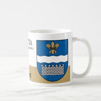 Fleur de lis Fortress from Daugavpils Latvia Coffee Mug