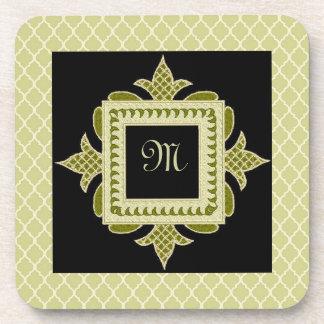 Fleur-de-lis Frame Coaster