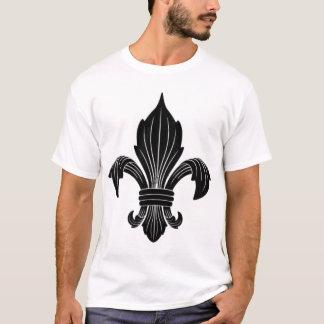 Fleur De Lis Houndstooth Shirt