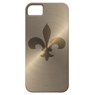 Fleur De Lis In Gold iPhone 5 Cover