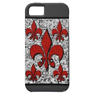 Fleur-De-Lis, iphone-5 iPhone 5 Cover