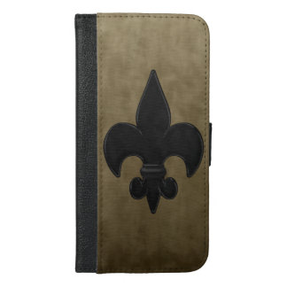 Fleur De Lis iPhone 6/6s Plus Wallet Case