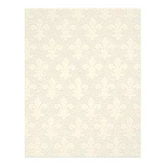 Fleur de lis letterhead
