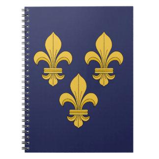Fleur-de-lis Notebook