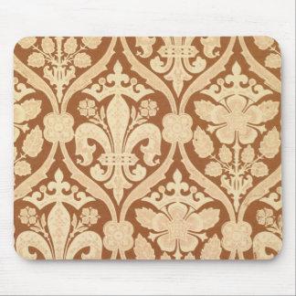'Fleur-de-Lis', reproduction wallpaper designed by Mouse Pad