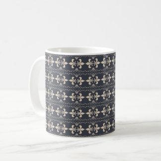 Fleur de Lis, royal seamles pattern Coffee Mug