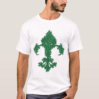 Fleur De Lis Shamrock St Patrick's Day T-shirt