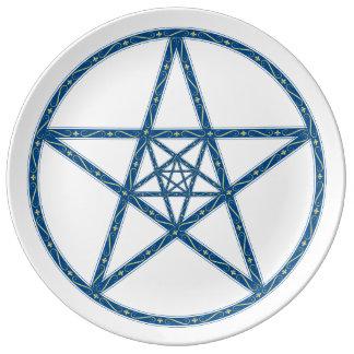 Fleur De Lis Star Plate