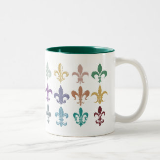 Fleur de Lis Study Mug