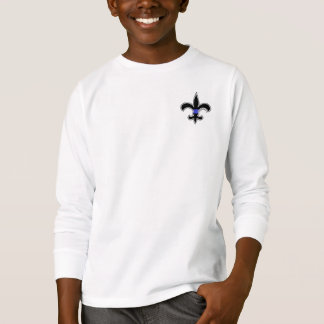 Fleur De Lis Thin Blue Line Saints Long Sleeve Top
