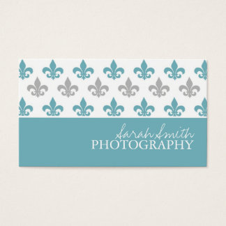 Fleur de Lis (Today's Best Award) Business Card