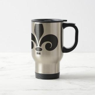 Fleur-De-Lis Travel Mug