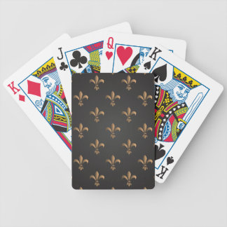 Fleur de lis, vintage,elegant,chic.classy,pattern bicycle playing cards