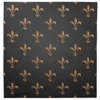 Fleur de lis, vintage,elegant,chic.classy,pattern napkin