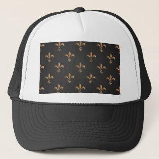 Fleur de lis, vintage,elegant,chic.classy,pattern trucker hat