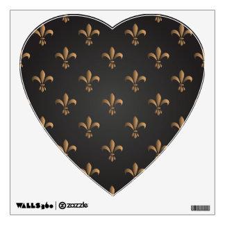 Fleur de lis, vintage,elegant,chic.classy,pattern, wall sticker