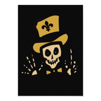 Fleur De Lis Voodoo Card