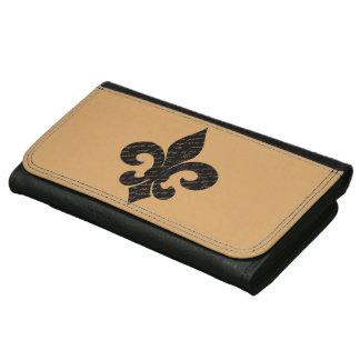 Fleur De Lis Wallet For Women