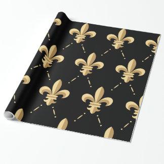 Fleur De Lis Wrapping Paper