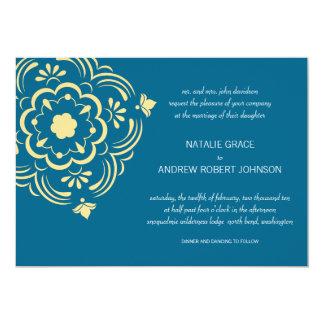 Fleur de Morocco Wedding Invitation