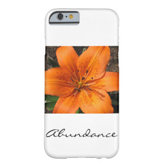 Fleur de ressort coque iPhone 6 barely there