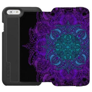 Fleur de Swirl - Choose Your Color! Incipio Watson™ iPhone 6 Wallet Case