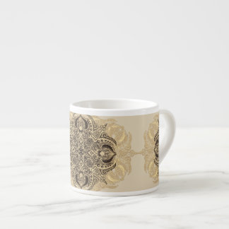 Fleur de Swirl Warm Espresso Cup