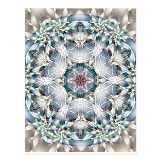 Fleur des cartes du mandala 1 de la vie cartes postales
