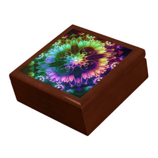 Fleur des Vents, Rainbow Fractal Flower of Winds Gift Box