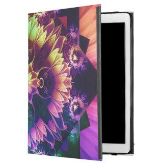 """Fleur des Vents, Rainbow Fractal Flower of Winds iPad Pro 12.9"""" Case"""