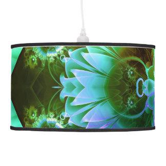 Fleur des Vents, Rainbow Fractal Flower of Winds Pendant Lamp
