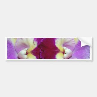 Fleur d'orchidée autocollant de voiture