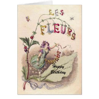 Fleur Faerie Greeting Card