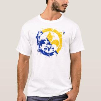 Fleur Flag 2 Distressing T-Shirt